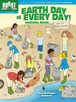 BOOST Earth Day Is Every Day! Activity Book